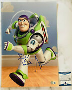 Tim Allen Signed Autograph 12x18 Photo Toy Story Buzz Lightyear W/ Quote Beckett