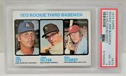 1973 Topps Mike Schmidt And Ron Cey Rc 615 - Psa 4 Vg-ex Hof Rookie