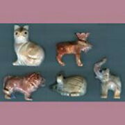 Peruvian Soapstone Small Animal Carvings Figurines Choose One Colors Will Vary