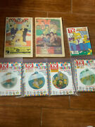 The Simpsons Tv Guides 4 Christmas Ornaments One Other And Two Tv Week