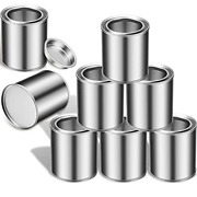 8 Pieces Empty Metal Paint Cans With Lids Paint Cans Tiny Empty Unlined Pint 6.1