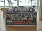 Brand New 2009 Hess Toy Truck Race Car And Racer Set - New In Box