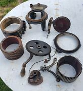Antique Circular Sock Cast Iron Knitting Machine P.t. Legare Limited