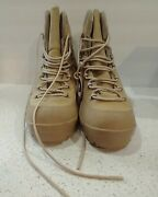Danner Ich 7 Military Mens Combat Leather Boots Tan 43530x Size 10 Regular