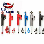 Usa Universal Cnc Steering Damper Linear Stabilizer For Bmw Aprilia Motorcycle
