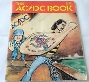 Ac/dc Rarity The Ac/dc Book Songbook From The 1976 Dirty Deeds Lp Promo Flyer