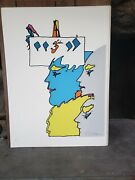 Peter Max Thought Of God 1970