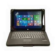 Windows Tablet W/ Protective Case Bluetooth Keyboard And Trackpad
