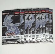 10x Ghosts From The Past Factory Sealed Booster Packs Yugioh Tcg - New