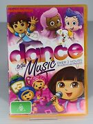 Dance To The Music Dvd, 2013 Dora Diego Bubble Guppies Nickelodeon Favourites