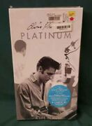 Elvis Presley Platinum A Life In Music 4 Cassettes Box W/ Hype 1997 Sealed Mint