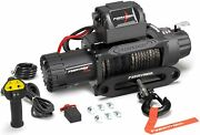13000lb 12v Electric Winch Offroad W/ Synthetic Rope Remote Control For Car Suv
