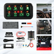 8 Gang On-off Switch Panel Box Press Button Electronic Relay Control System Set