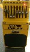 Behringer / Eq700 Graphic Equalizer 7 Band. Guitar Effect Pedal. New In Box Eq.