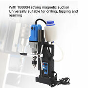1100w Md40 Electric Magnetic Drill Handheld Magnetic Drill Press W/ Mt2 Chuck Us