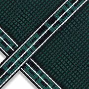 Loop Loc® Green Mesh Safety Cover, 18'x36', 4'x8' 4' Offset Step, 4' Roman End