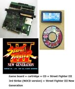Jamma Street Fighter Iii New Generation And 3rd Strike Base Playable Set