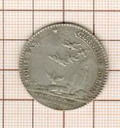 Louis Xv Token Silver Uncommon Barristers In The Board Of King 1762