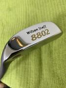 Wilson Staff 8802 34 Inch L-shaped Putter Usa Grip From Japan