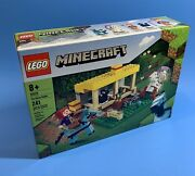 Lego Minecraft 21171 The Horse Stable 241 Pcs Brand New Sealed Priority Shipped