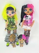 Lol Surprise Omg Doll Metal Chick Remix Exclusive Super Sonix Bhad Gurl And Tinies