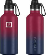 Iron °flask Sports Water Bottle-3 Lids Spout Lid, Vacuum Insulated