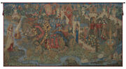 Legend Of King Arthur French Tapestry - Wall Art Hanging- Home Dandeacutecor- 35x66 Inch
