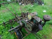 Vintage Bolens/husky Walk Behind Tractor With Cultivator Assembly Local Pickup