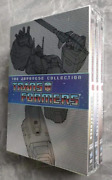 Transformers The Japanese Collection Complete Series 1-4 New Free Shipping