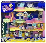 Littlest Pet Shop Round And Round Pet Town Playset New In Box Sealed