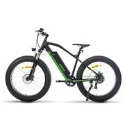 48v 26 Mountain Electric Bike Bicycle E-bike Removable Battery 7-speed Fat Tire