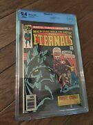Eternals 1 Cbcs 9.4 White Pages Origin And 1st Appearance Of The Eternals