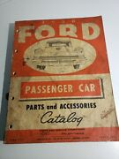 1958 Ford Passenger Car Parts And Accessories Catalog