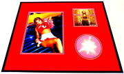 Britney Spears Framed 16x20 Oops I Did It Again Cd And Photo Set