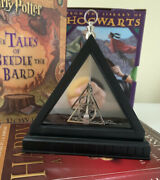 Harry Potter Deathly Hallows Necklace Lovegood Noble Collection Prop Replica