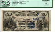 1882 Vb 20 The First National Bank Of Saint Paris Ohio Oh - 2230 Charter 2488