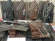 Mega Deal 0rr-14 14 Assorted O Scale Lionel Track As Shownwith 10 Switches