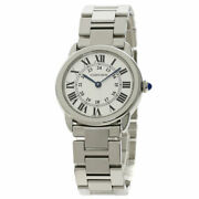 Ronde Solo Sm Watches W6701004 Stainless Steel/stainless Steel Ladies