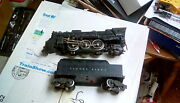 Lionel Post War 2026 Engine And 6466wx Tender