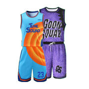 Custom Todder Youth Kids Adult Space Jam Jersey Shorts Any Name Parent Child