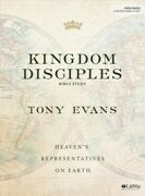 Kingdom Disciples - Bible Study Book, Paperback By Evans, Tony, Like New Used...