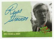 2012 Night Of The Living Dead Authentic Autograph Russ Streiner As Johnny
