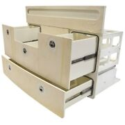 Scout Boat Tackle Station 191387-401550f   Off White 4 Drawer Storage