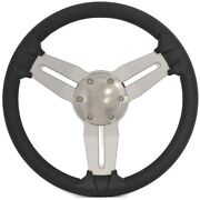 Ranger Boat Steering Wheel 200903   13 5/8 Inch Charcoal Stainless