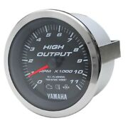 Beede Boat Tachometer Gauge 946827   Yamaha 3 1/4 Inch Systems Check