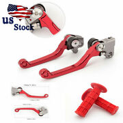 Us Stock Cnc Red For Beta Rr/rs 4t 2008-2011 Dirt Bike Pivot Brake Clutch Levers