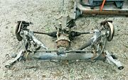 1989 Porsche 944 Rear Assembly Transmission Trailing Control Arms Wheel Hubs Etc