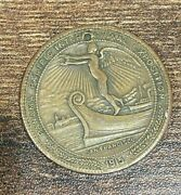 1915 So-called Dollar Hk-406 Panama Pacific Exposition Medal Coin  Nice