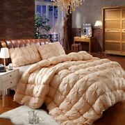 Duvet White Goose Down Winter Quilt Thickened Warm Bedding Quilt Core Christmas