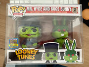 Funko Pop Mr Hydr And Bugs Bunny 2 Pack Toy Tokyo 850 Pcs Exclusive San Diego 17